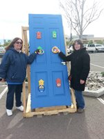 GNM Employees Volunteering at Playhouse Build a Thon