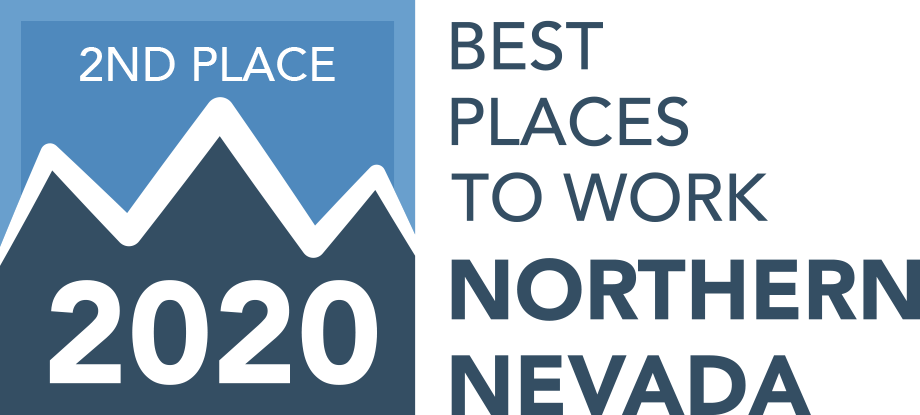 2020 Best Place to Work 2nd Place